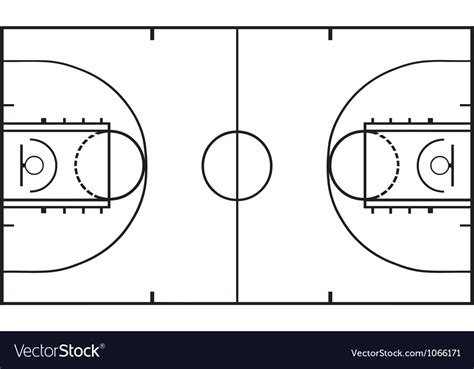 images of basketball court basketball court royalty free vector image vectorstock