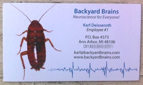 backyard brains roboroach backyard brains specs price release date redesign
