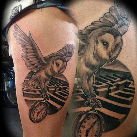 labyrinth tattoo designs 25 best owl design trending ideas on