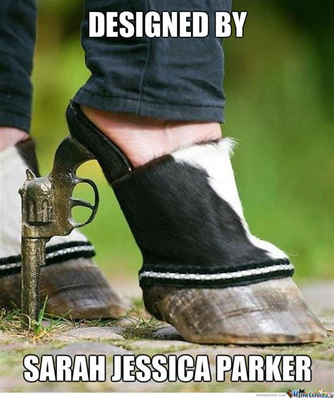Shoes Meme - sarah jessica parker designer shoes by shadowtm meme center