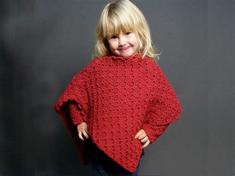 7 Beautiful Ponchos by Children S Poncho Pattern Only Beautiful Stitches And