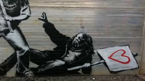 best graffiti best 3d graffiti by artist banksy hd part 3