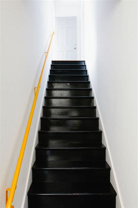 black staircase 25 best ideas about black painted stairs on pinterest