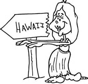 Coloring Pages Hawaii Coloring Pages Luau Coloring Pages