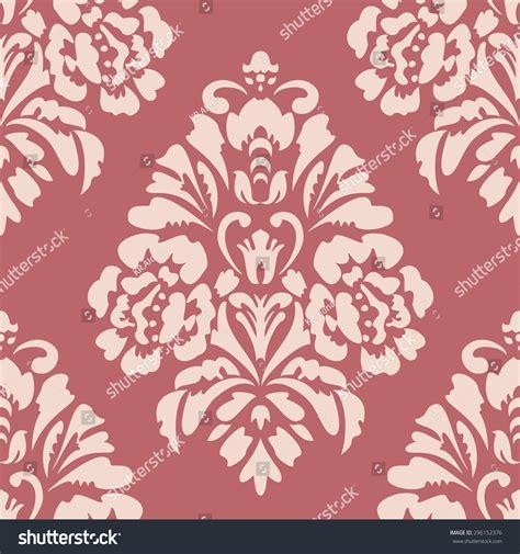 pattern elegant illustrator elegant damask wallpaper vintage pattern seamless stock