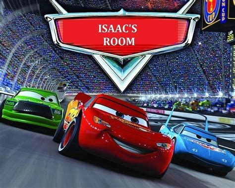 room mcqueen cars disney print poster picture home