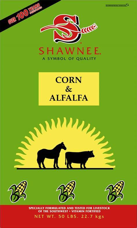 corn alfalfa mix shawnee milling