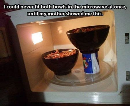 37 I could never fit both bowls in the microwave meme   PMSLweb