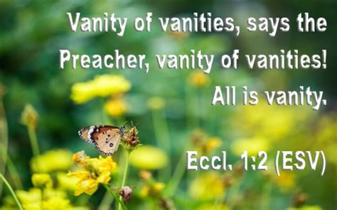 Vanity Bible by What Does The Bible Say About Vanity A Christian Study