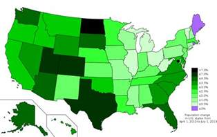 most populated state in usa list of u s states by population growth rate wikipedia