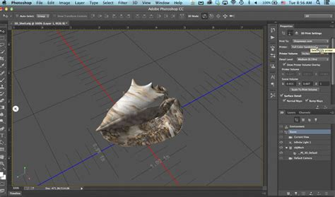 3d tutorial in photoshop cc adobe adds 3d printing functions to photoshop cc
