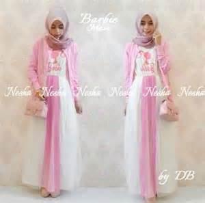 Gamis Syari Murah Nabilah Produsenkonveksicantikterbaru maxi dress spandek korea syar i www outletbusanamuslim