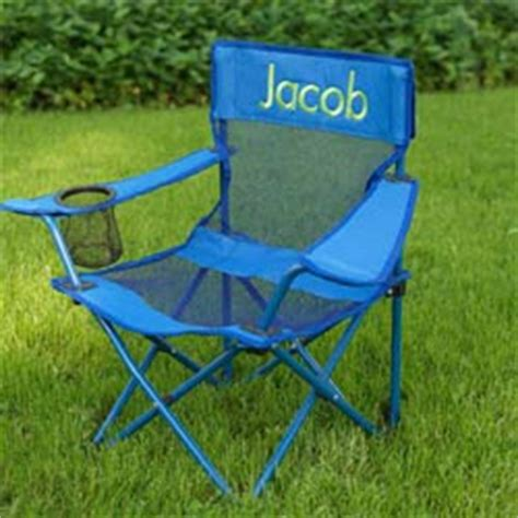 personalized cing chair by kidkraft