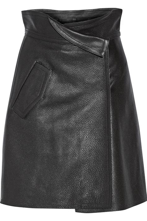 fashion friday fall trend leather skirts s voices