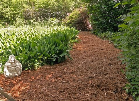 mulch path diy garden paths 7 thrifty designs bob vila