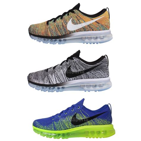 nike flyknit max mens cushion running casual shoes