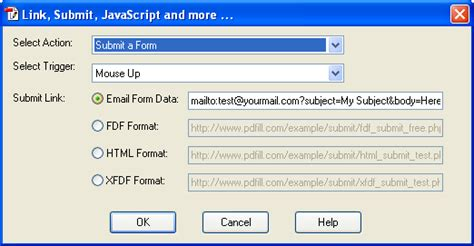 format html mailto how to submit pdf form data by email using pdfill pdf form