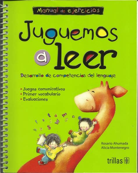 libro aprendiendo de las drogas libro didactico para ense 209 ar a leer ni 241 os actividades y juegos didactico leer y