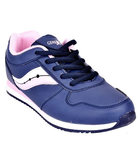 deals navy blue sports shoes price in india buy