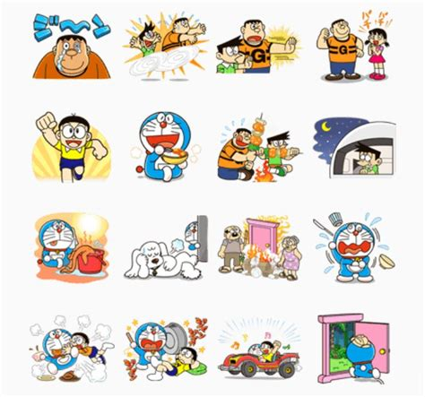 Doraemon Graphic 25 free printable stickers a collection of ideas to try