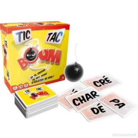 Asmodee Jeux De Societe Pas Cher by Asmodee Jeu De Soci 233 T 233 Tic Tac Boum Ttb01 Pas Cher Achat Vente Jeux D Adresse Wuqx8t8g