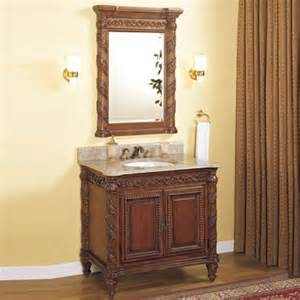 tuscany 32 quot single bathroom vanity set wayfair
