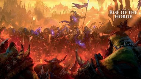 world of warcraft rise the story of the rise of the horde lore collaboration with nobbel87 новости wowhead