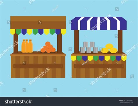 Booth Marketing Mba by Booth For Vector Illustration 194900561