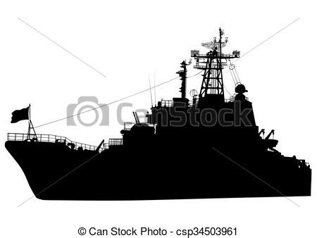 war boat clipart clip art vector of war boat silhouette of a large