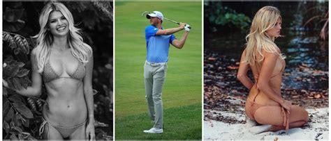 golfer blows massive lead  stunning girlfriend  console    daily caller