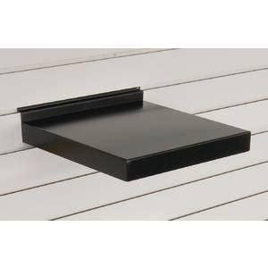 slat wall shelves 12 inch metal slatwall shelves black
