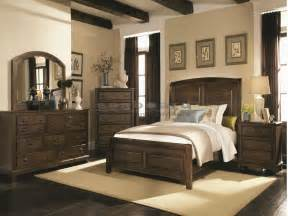 Rustic Queen Bedroom Sets - laughton country 6 pc queen bedroom 203260q6 seaboard bedding and furniture