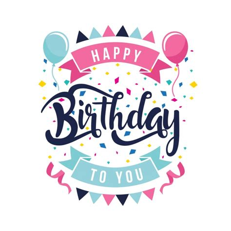 happy birthday notes design vector free vector graphic birthday vectors photos and psd files free download