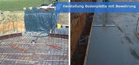 Bodenplatte Einschalen Anleitung by Schwimmbad Selber Bauen Schwimmbecken Infoportal Fkb
