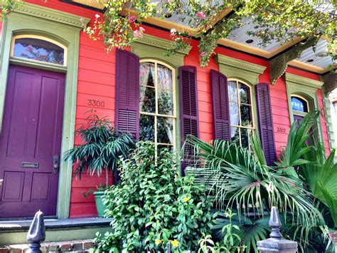 colorful houses painting nola pics be bold with color crescent city living