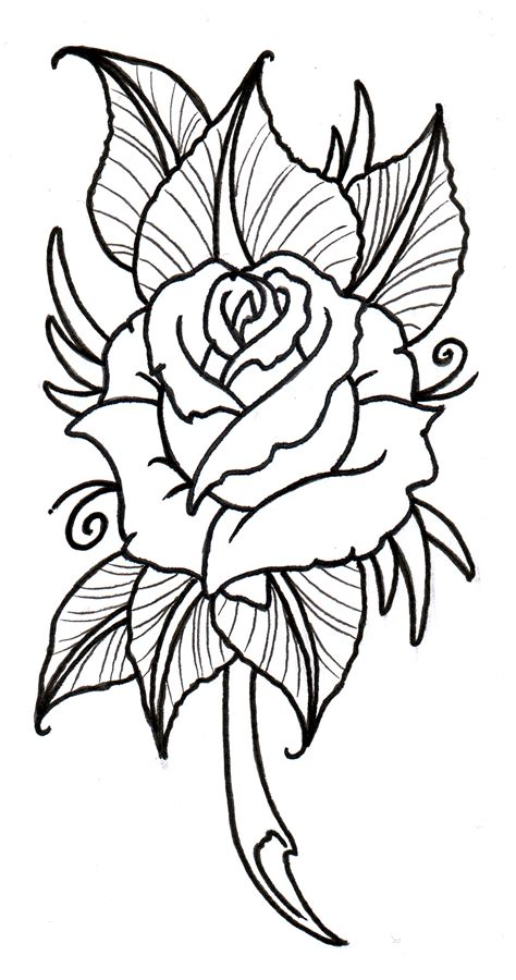 tattoo stencil paper how to rose tattoo stencils clipart best