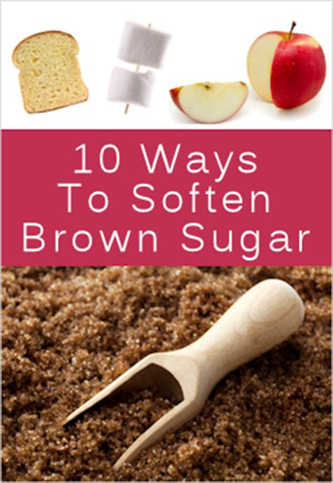 10 ways to soften hard brown sugar tipnut com