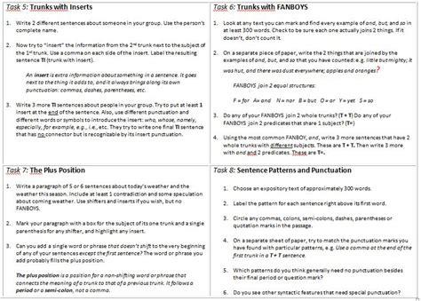 xwordgrammar glossary xwordgrammar grammar discovery tasks
