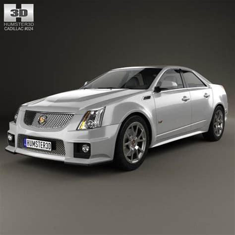 2009 cadillac sedan cadillac cts v sedan 2009 3d model humster3d