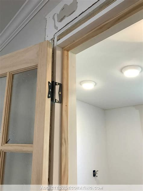 door to door pantry doors finished bifold closet doors installed as