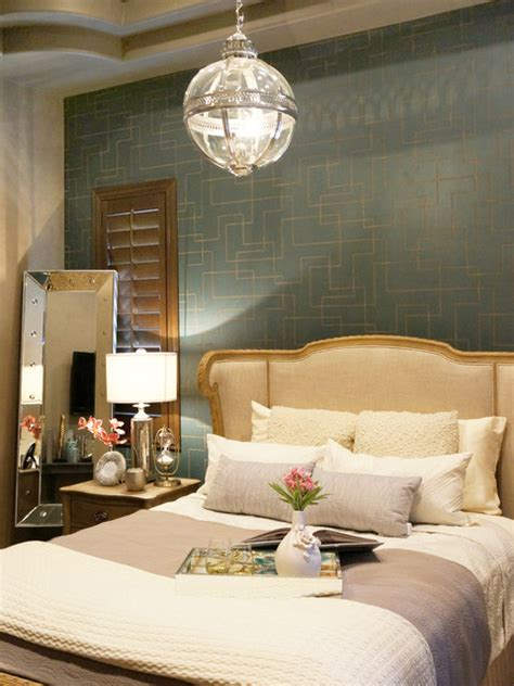 Rustic Glam Bedroom Decor anthem country club rustic glam bedroom