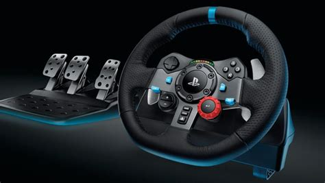 Logitech G29 Driving 1 new logitech g29 ps4 racing wheel leaked by