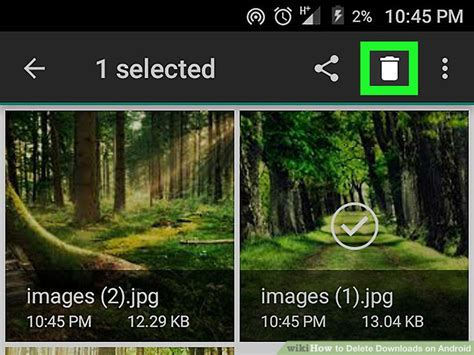delete downloads android how to delete downloads on android 5 steps with pictures