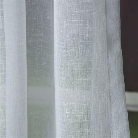 fertige gardinen schals fertiggardine fertig stores mit band transparent wei 223