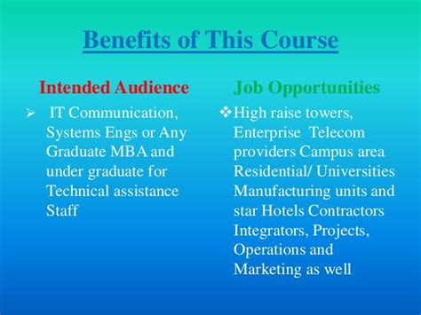 Benefits Of Mba With Engineering by Presentation Hdlc Courses F Pp
