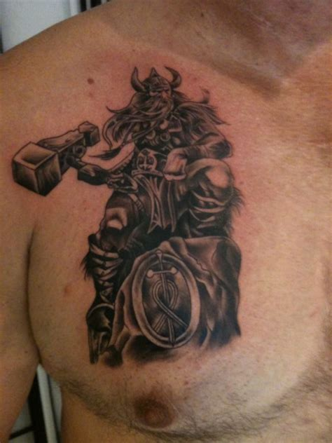 thor tattoos 14 thor tattoos designs images and pictures
