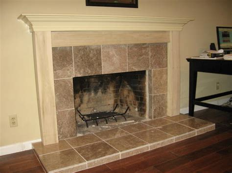 Ceramic Tile Fireplace Hearth by Fireplace Hearth And Mantel Ceramic Tile Advice