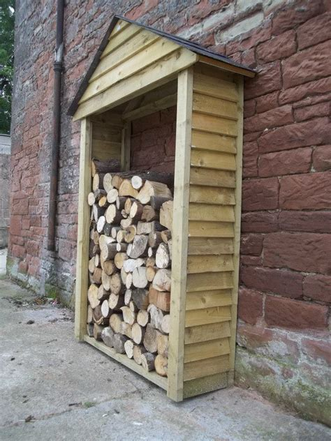 log sheds firewood shelters  carlisle bluebirch