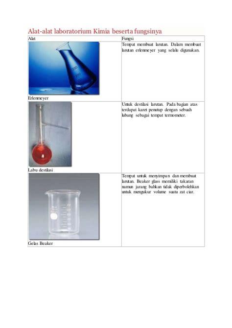 Alat Lab Kimia alat lab beserta fungsinya kimia