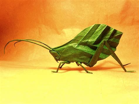 Origami Insect - 24 more amazingly realistic looking origami insects